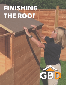 Finishing the Shed Roof