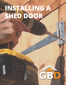 Installing a Shed Door