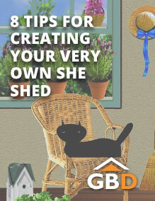 8 Tips for Creating Your Very Own She Shed