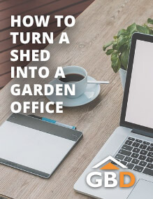 How to turn a Shed into a Garden Office
