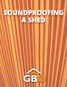 Soundproofing a Shed